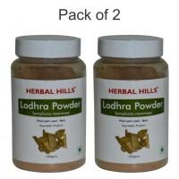 Herbal Hills Lodhra Powder - 100 gms - Pack of 2